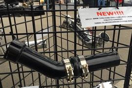 EVOLUTION RACEWERKS F CHASSIS N55 TURBO TO INTERCOOLER CHARGE PIPE